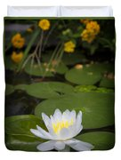 Water Lily IIi Duvet Cover