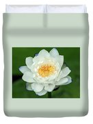 Water Lily In Bloom Duvet Cover