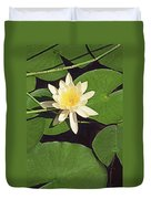 Water Lily I V Duvet Cover