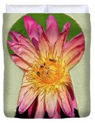 Water Lily Keyhole Duvet Cover
