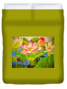 Water Lily Lotus Duvet Cover