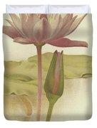 Water Lily  Nymphaea Zanzibarensis Duvet Cover