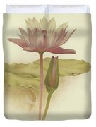 Water Lily  Nymphaea Zanzibarensis Duvet Cover