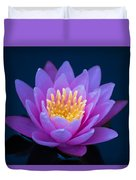 Water Lily Of The Dawn Duvet Cover