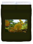 Water Lily Sky Duvet Cover