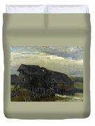 Water Mill At Opwetten Vincent Van Gogh Duvet Cover