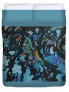 Water Music Duvet Cover