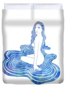 Water Nymph Cii Duvet Cover