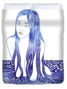 Water Nymph L Duvet Cover