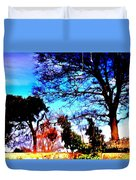 Water Of Leith At Chesser Duvet Cover