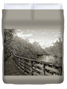 Water Path Duvet Cover