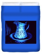 Water Pitcher And Bowl Still Life Duvet Cover