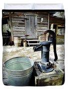 Water Pump Duvet Cover