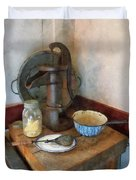 Water Pump In Kitchen Duvet Cover