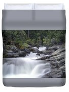 Water Running From The Woods Duvet Cover