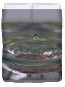 Water Sculpture Green Series 2 Duvet Cover