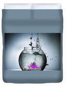 Water Splash  Duvet Cover