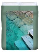Water Steps Duvet Cover
