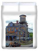 Water Tank House Duvet Cover