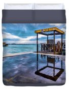 Water Taxi Duvet Cover
