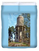 Water Tower In Malmi Cemetery Duvet Cover