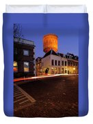 Water Tower Lauwerhof In Utrecht 25 Duvet Cover