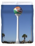 Water Tower - Pensacola Beach Florida Duvet Cover