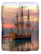 Water Traffic Duvet Cover