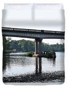 Water Under The Bridge Duvet Cover