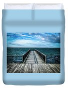 Water Watching Duvet Cover