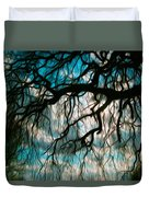 Water Willow Duvet Cover