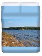 Water Wisp Duvet Cover