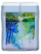 Watercolor 012112 Duvet Cover