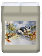 Watercolor 015022 Duvet Cover