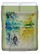 Watercolor 018080 Duvet Cover