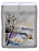 Watercolor 112012 Duvet Cover