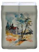 Watercolor 119070 Duvet Cover