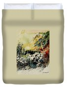 Watercolor  130708 Duvet Cover