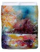 Watercolor 140908 Duvet Cover