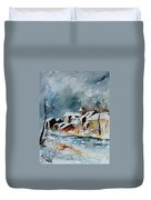 Watercolor  190607 Duvet Cover