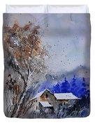 Watercolor 45512113 Duvet Cover