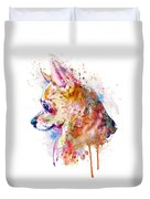Watercolor Chihuahua  Duvet Cover