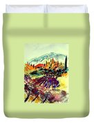 Watercolor  Provence 07 Duvet Cover
