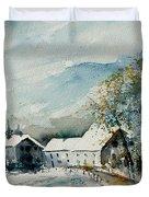 Watercolor Sechery 1207 Duvet Cover by Pol Ledent