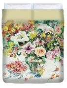 Watercolor Series 1 Duvet Cover