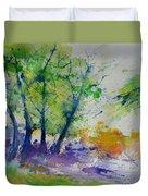Watercolor Spring 2016 Duvet Cover