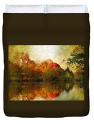 Watercolor Sunset Duvet Cover