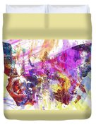 Watercolour Watercolor Paint Ink  Duvet Cover