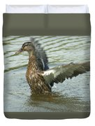 Watercovered Wingflapper Duvet Cover