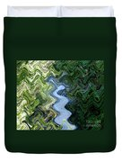 Waterfall Abstract Duvet Cover